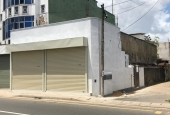 Brand new fully tilled roller shuttered concrete slabbed roof 02 shops to be rented in  Rajagiriya, Obeysekara Pura.