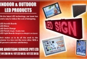 LED Products for Indoor and Outdoor.